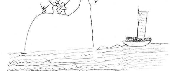 Woo Myung's illustration